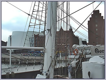 Gorch Fock in Stralsund